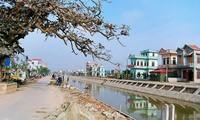 Provinsi Nam Dinh membangun pedesaan baru dengan berdasarkan pada kekuatan komunitas
