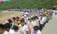 Puluhan ribu orang datang berziarah kepada Jenderal Vo Nguyen Giap