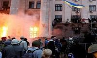 Ukraina: Bentrokan berlumuran darah terjadi sehingga mengakibatkan cedera terhadap ratusan orang di provinsi Odessa