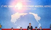APEC sepakat memperkuat kualitas sumber daya manusia