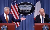 Menteri Pertahanan Amerika Serikat dan Perancis berbahas tentang operasi serangan udara di Suriah