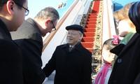 Memperdalam lebih lanjut lagi hubungan Kemitraan Strategis Komprehensif Vietnam-Federasi Rusia
