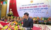 Kongres kompetisi patriotik  nasional ke-5 dari Legiun Veteran Perang Vietnam dibuka