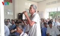 Wakil Ketua MN Nguyen Thi Kim Ngan melakukan kontak dengan pemilih provinsi Ben Tre