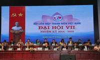 """Kaum pemuda Vietnam menghimpun barisannya dalam gerakan """"Saya mencintai Tanah Air saya"""