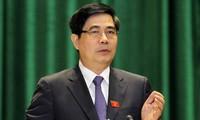 Menteri Pertanian dan Pengembangan Pedesaan Vietnam menyampaikan pemaparan tentang restrukturisasi pertanian
