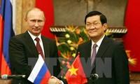 Aktivitas-aktivitas memperingati ulang tahun ke-65 penggalangan hubungan diplomatik Vietnam-Federasi Rusia berlangsung secara bergelora