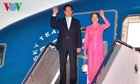 PM Nguyen Tan Dung tiba di Sydney, Australia