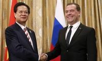 Mendorong hubungan kemitraan strategis dan komprehensif Vietnam-Rusia