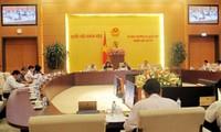 Komite Tetap MN memberikan pendapat terhadap rancangan-rancangan Undang-Undang