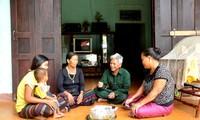 Bapak Ho Thanh Binh, sesepuh dukuh yang memelopori pengembangan ekonomi di daerah pegunungan Lao Bao