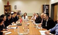 Delegasi Departemen Ekonomi KS PKV melakukan temu kerja dengan Kementerian Pertanian Israel