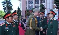 Mendorong kerjasama pertahanan Vietnam Selandia Baru