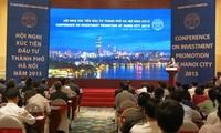 Konferensi promosi investasi di kota Hanoi tahun 2015