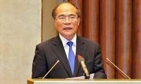 Ketua MN Vietnam, Nguyen Sinh Hung melakukan kunjungan resmi di AS