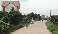 Kabupaten Hiep Hoa, provinsi Bac Giang membangun pedesaan baru dari kebulatan pendapat di kalangan rakyat