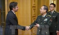 Tiongkok dan AS memperkuat hubungan militer