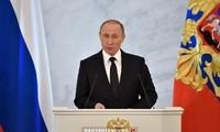 Presiden Rusia memuji prestasi melawan terorisme yang dilakukan Badan Keamanan Federal