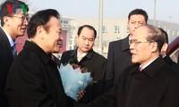Ketua MN Vietnam, Nguyen Sinh Hung tiba di Beijing memulai kunjungan persahabatan resmi di Tiongkok