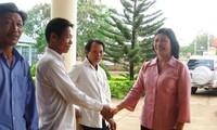 Ibu H'Luoc N'tor, Anggota wanita Majelis Nasional Vietnam-Kebanggaan warga etnis minoritas M'nong