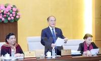 Sidang ke-46 Komite Tetap MN Vietnam berakhir