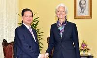 IMF ingin memperkuat kerjasama yang intensif dan ekstensif  membantu Vietnam melaksanakan semua target perkembangan