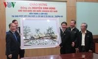 Ketua MN Nguyen Sinh Hung melakukan kunjungan kerja di provinsi Quang Nam