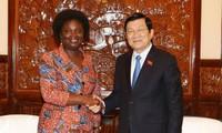Presiden Truong Tan Sang menerima Direktur Nasional WB di Vietnam