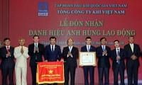 Membawa cabang produksi gas Vietnam menjadi cabang industri yang berkaliter di kawasan dan dunia