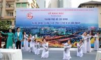 Pameran foto tentang kota Ho Chi Minh yang dinamis, kreatif, berkembang dan berintegrasi