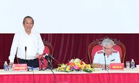Deputi PM Truong Hoa Binh melakukan temu kerja dengan Inspektorat Pemerintah