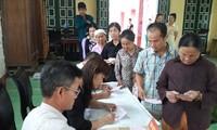 Satu pemilu yang demokratis, berdisiplin dan sesuai dengan undang-undang