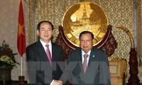 Arti besar kunjungan ke Laos dan Kamboja yang dilakukan oleh Presiden Negara Vietnam