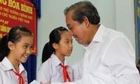 Deputi PM Truong Hoa Binh melakukan kunjungan di provinsi Quang Nam