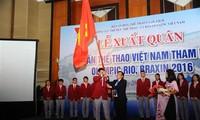 Kontingen olahraga Vietnam berangkat menghadiri Olympiade Rio 2016