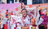 Pesta temu pergaulan kebudayaan Vietnam-Jepang 2016
