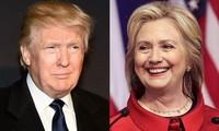Ibu Hillary Clinton merebut kembali keunggulan dalam melawan Donald Trump