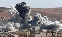 Tentara Pemerintah Suriah memperkuat serangan udara terhadap kaum pembangkang di Aleppo