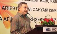 Hubungan Vietnam-Indonesia sedang berkembang secara baik di berbagai bidang