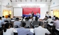 Vietnam dan Laos memperkuat kerjasama tentang informasi pers