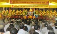 Memperingati ulang tahun ke-35 Berdirinya Sangha Buddha Vietnam