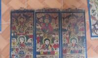 Lukisan pemujaan dari berbagai etnis minoritas di daerah pegunungan Vietnam Utara