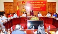 Wakil Presiden Dang Thi Ngoc Thinh melakukan kunjungan kerja di provinsi Binh Thuan