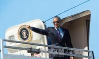 Presiden AS, Barack Obama siap melakukan kunjungan ke Yunani, Jerman dan Peru