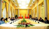 Vietnam dan Myanmar berkomitmen memperdalam lebih lanjut lagi hubungan perdagangan dan investasi