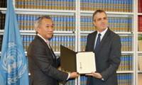 Jepang mengesahkan Perjanjian Paris