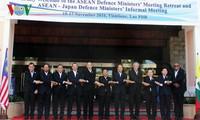 Konferensi terbatas Menhan ASEAN dan Pertemuan tidak resmi Menhan ASEAN-Jepang