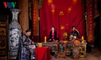 Mengembangkan seni lagu rakyat Ca Tru di Kota Hanoi