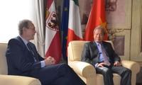 Provinsi Trento dari Italia ingin memperkuat kerjasama dengan provinsi Phu Tho dari Vietnam