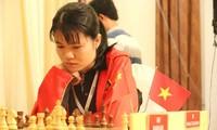 Pecatur Pham Le Thao Nguyen lulus masuk ke babak ke-3 turnamen kejuaraan catur dunia